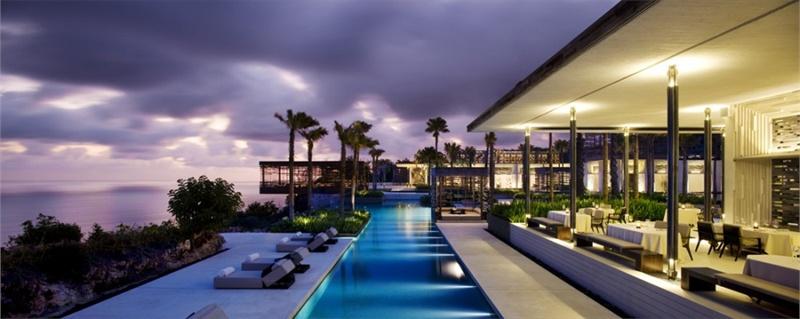 巴厘岛,度假酒店和别墅/woha