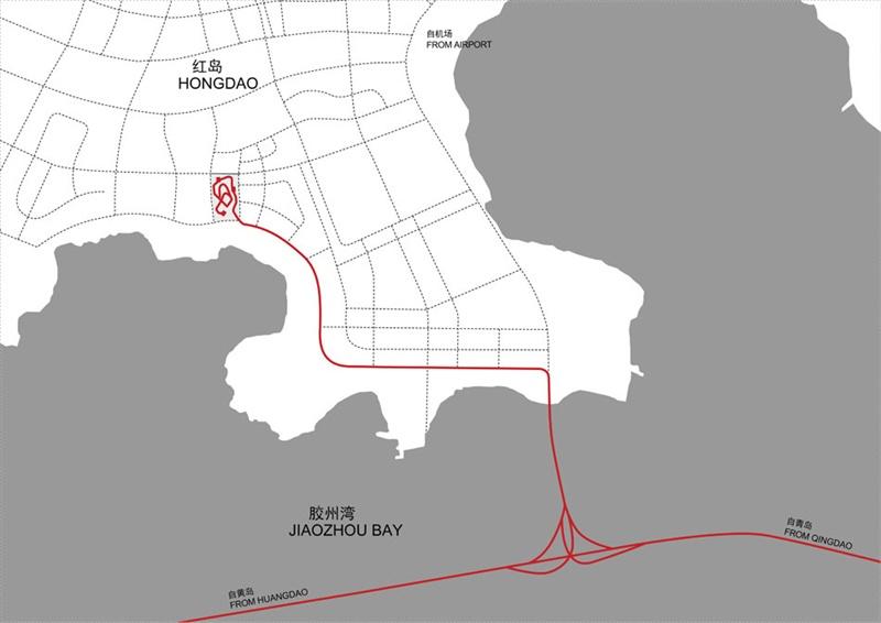 青岛老建筑地图