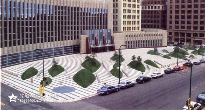 公共广场设计——景观大师玛莎·施瓦兹作品