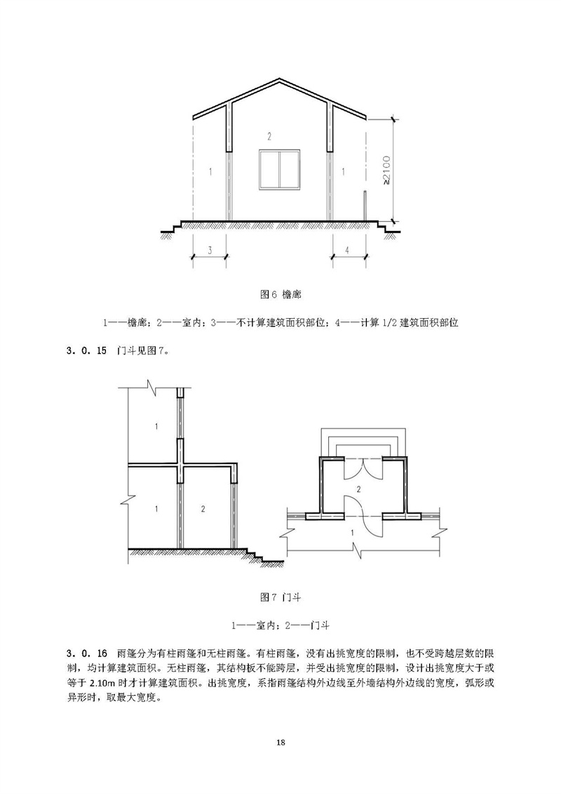 建筑物的外墙与室外地面或散水接触