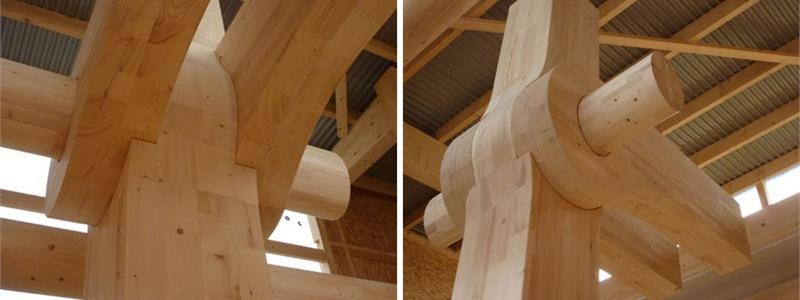 [转]全木材框架结构的现代化大楼